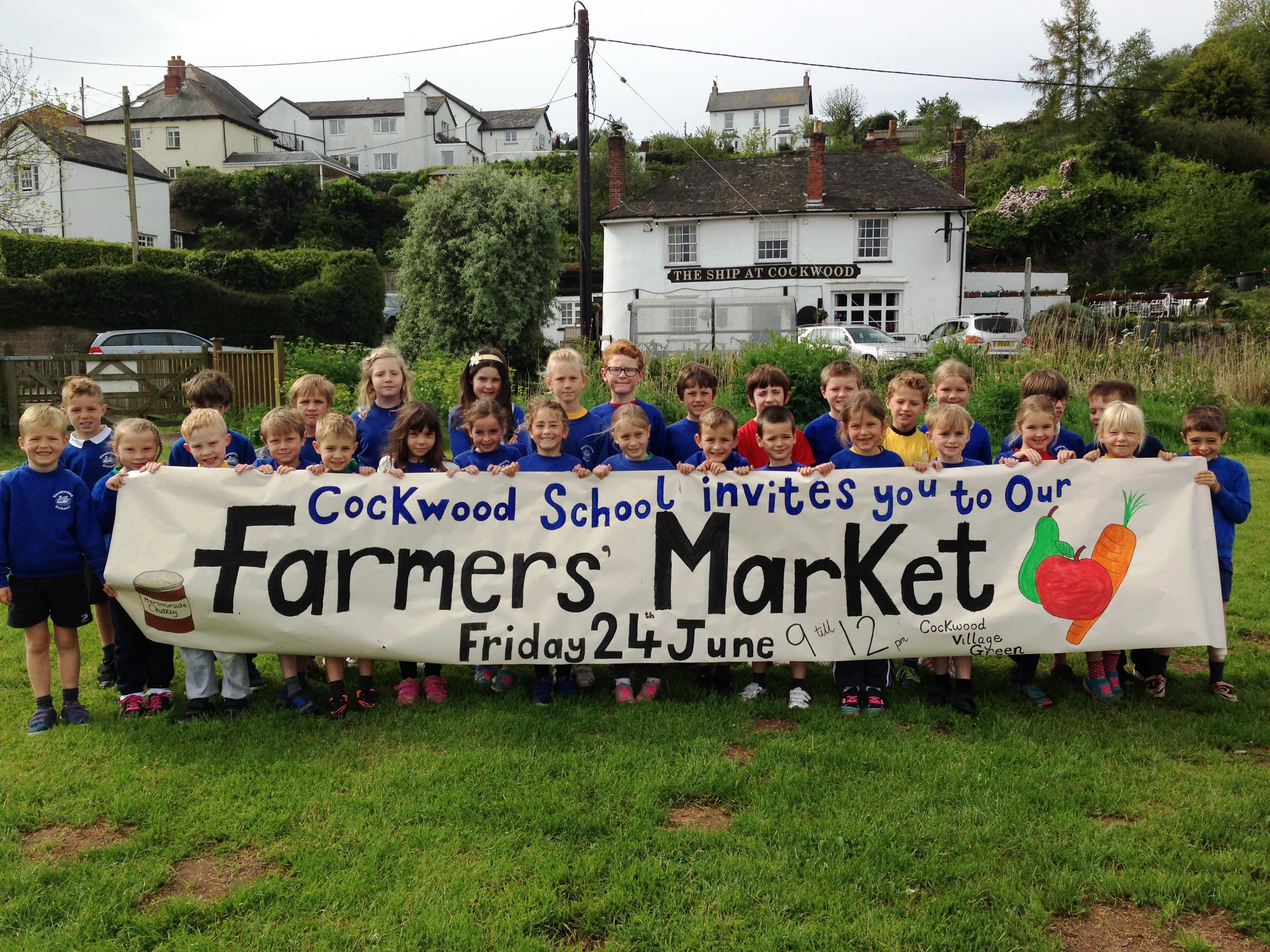 Cockwood School Farmers Market